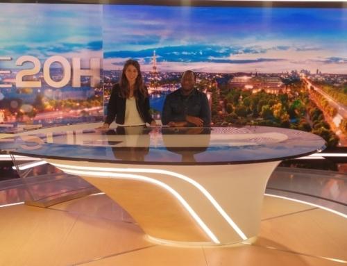 Les jeunes journalistes de La Chance à TF1