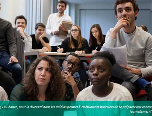 L'Étudiant parle de La Chance !