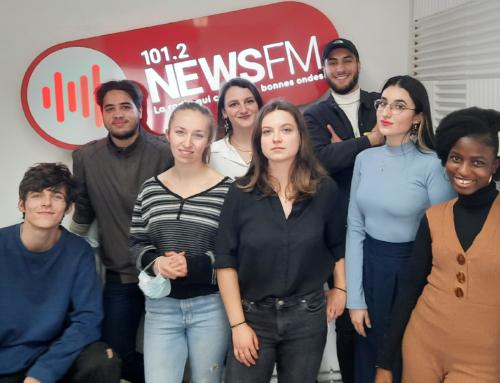 «Actua'Street», l'émission de radio de la promo La Chance-Grenoble, sur News FM